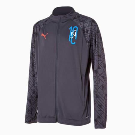 네이마르 주니어 풋볼 트레이닝 자켓/NEYMAR JR Futebol Training Jacket, Ebony, small-KOR