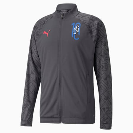 Neymar Jr Futebol Training Men's Football Jacket, Ebony, small