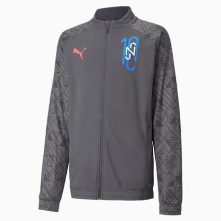 Młodzieżowa kurtka treningowa Neymar Jr Futebol, Ebony, small