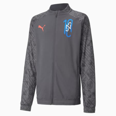 Neymar Jr Futebol Training Youth Jacket, Ebony, small