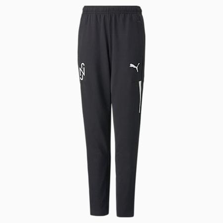 Pantalones de fútbol de entrenamiento JR Neymar Jr, Puma Black, pequeño