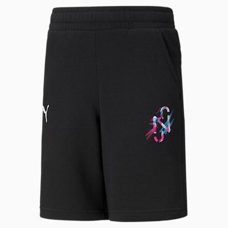 Neymar Jr. Creativity Kid's Shorts, Puma Black, small-IND