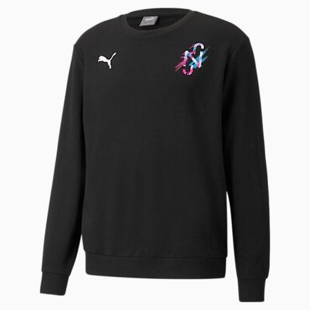 Neymar Jr Creativity Crew Neck Men's Sweater, Puma Black, small-SEA