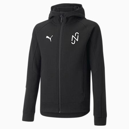 Neymar Jr Evostripe Youth Jacket, Puma Black, small