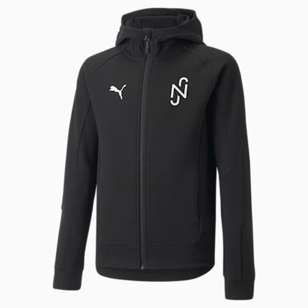 Neymar Jr Evostripe Youth Jacket, Puma Black, small-GBR