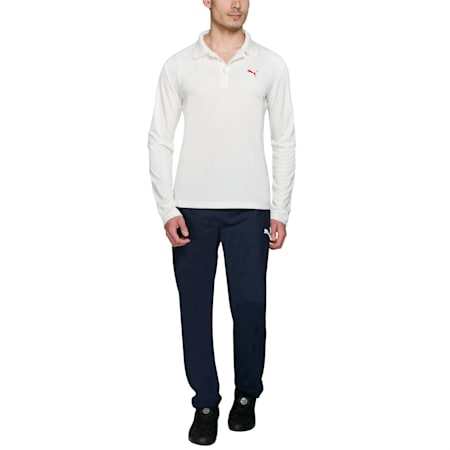 Cricket Team LS Polo, Birch, small-IND