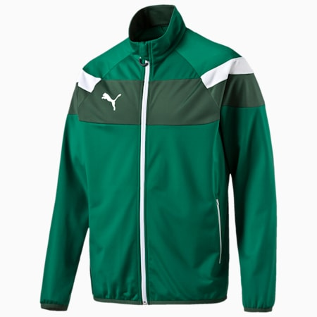 Spirit II Poly Jacket, power green-white, small-IND