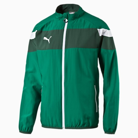 Spirit II Woven Jacket, power green-white, small-IND