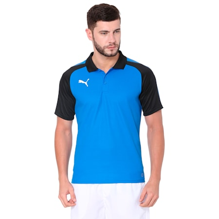 Football Men's Ascension Training Polo, Puma Royal-Puma Black, small-IND