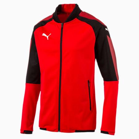 Football Men's Ascension Stadium Jacket, Puma Red-Puma Black, small-IND