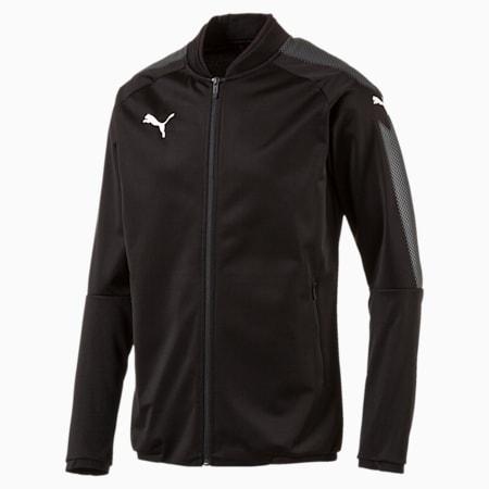 Football Men's Ascension Stadium Jacket, Puma Black-Puma Black, small-IND
