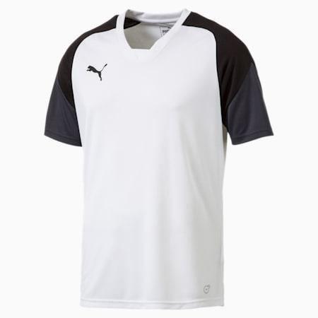 Football Esito 4 Training Jersey, Puma White-Puma Black-Ebony, small-SEA