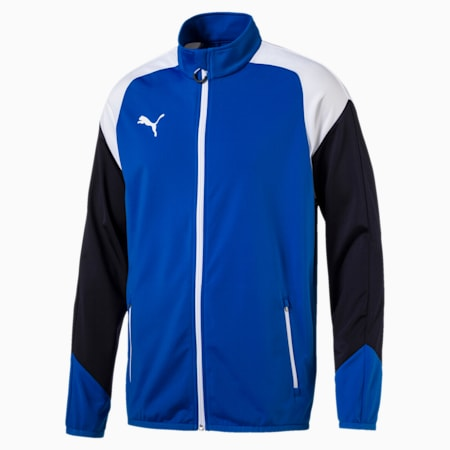 Esito 4 Poly Tricot Jacket, Puma Royal-White-New Navy, small-IND