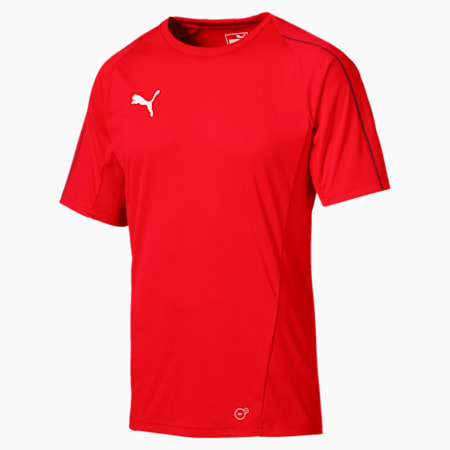 FINAL Men's Training Jersey, Puma Red-Puma Black, small-IND