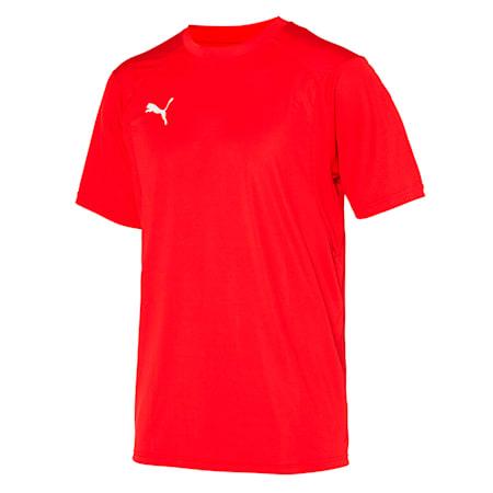 리가 트레이닝 반팔 티셔츠/LIGA Training Jersey, Puma Red-Puma White, small-KOR