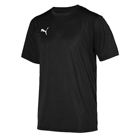 리가 트레이닝 반팔 티셔츠/LIGA Training Jersey, Puma Black-Puma White, small-KOR