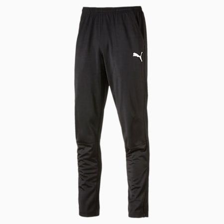 LIGA Men's Training Pants, Puma Black-Puma White, small-IND
