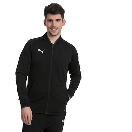 ftblNXT Men's Track Jacket, Puma Black-Asphalt, small-IND
