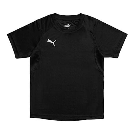 주니어 리가 트레이닝 반팔 티셔츠/LIGA Training Jersey Jr, Puma Black-Puma White, small-KOR