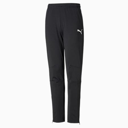 LIGA Knitted Kids' Football Pants, Puma Black-Puma White, small-GBR