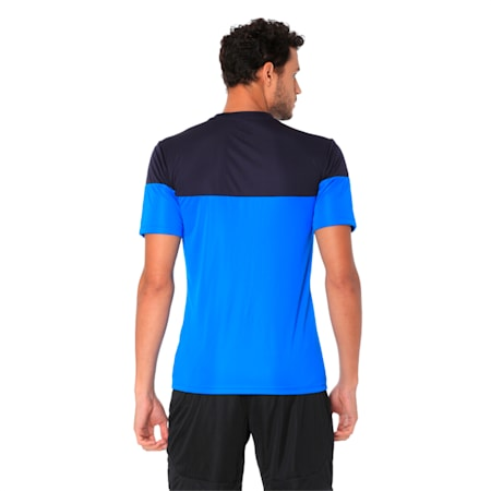 ftblPLAY dryCELL Men's Shirt, Blue Lemonade-New Navy, small-IND