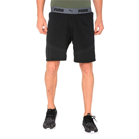 ftblNXT Premium evoKNIT Shorts Puma Blac, Puma Black-Iron gate, small-IND