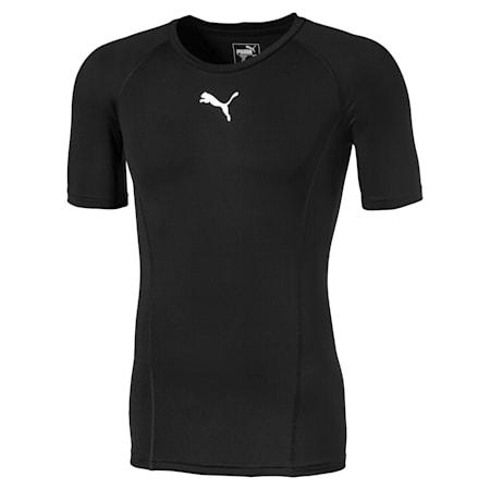 Camiseta de manga corta para hombre LIGA Baselayer, Puma Black, small