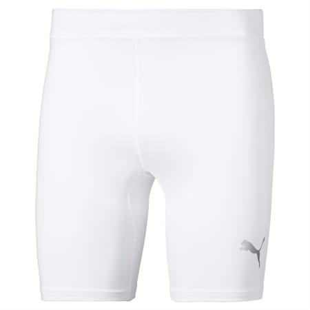 LIGA Baselayer Short Men's Tights, Puma White, small