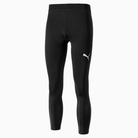 Męskie legginsy długie LIGA Baselayer, Puma Black, small