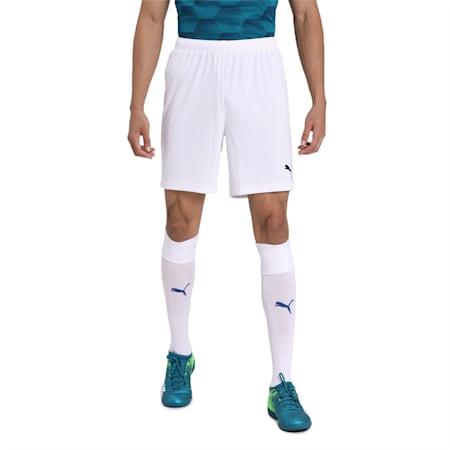ftblPLAY dryCELLMen's Shorts, Puma White, small-IND