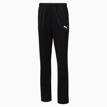 ftblPLAY Kids' Training Pants, Puma Black, small-GBR