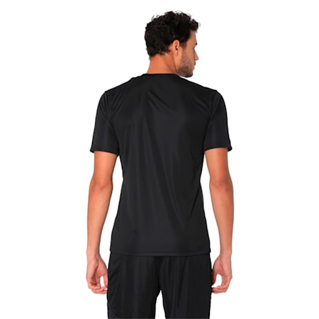 ftblPLAY Men's Graphic Shirt, Asphalt-Puma Black, small-IND