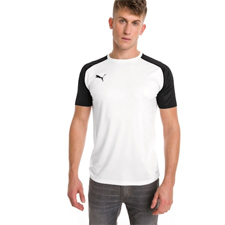 CUP dryCELL Men's Football Jersey, Puma White-Puma Black, small-IND