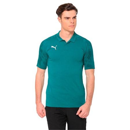 CUP Sideline Polo, Alpine Green-Pepper Green, small-IND
