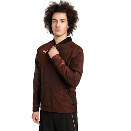 ftblNXT Pro Men's Jacket, Puma Black-Red Blast, small-SEA