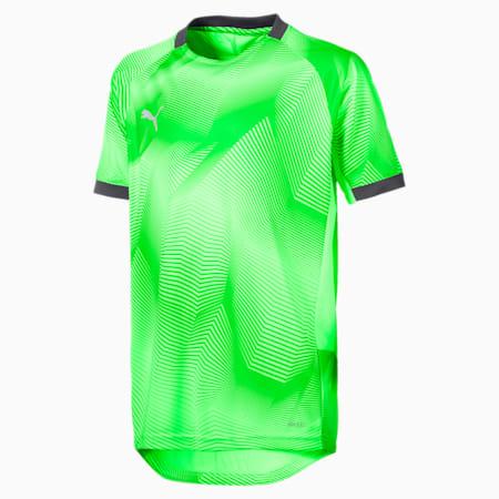 キッズ FTBLNXT ジュニア グラフィック シャツ, Green Gecko-Ebony, small-JPN