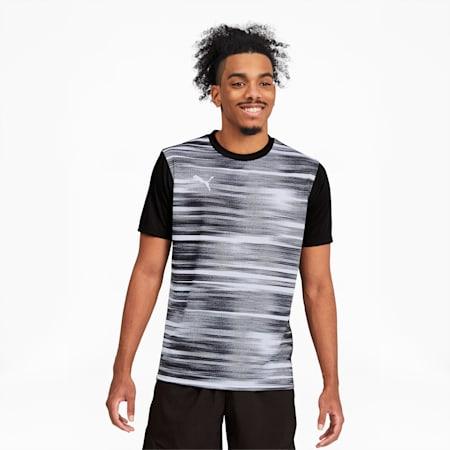 ftblNXT Core Graphic Shirt, Puma Black-Puma White, small
