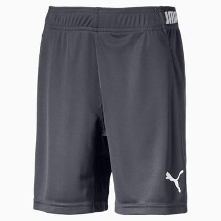 ftblNXT Kids' Shorts, Ebony, small