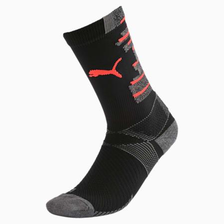 ftblNXT Men's Socks, Puma Black-Nrgy Red, small