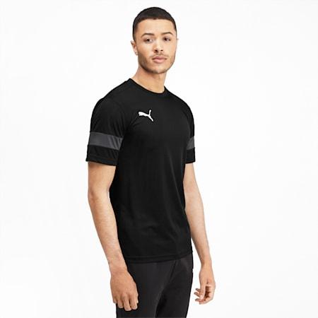 Men's Training T-Shirt, Puma Black-Asphalt, small-IND