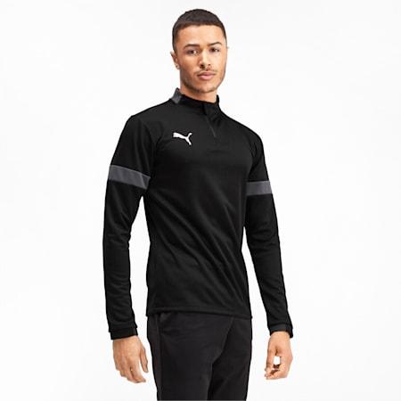 Quarter Zip Men's Training Top, Puma Black-Asphalt, small-IND