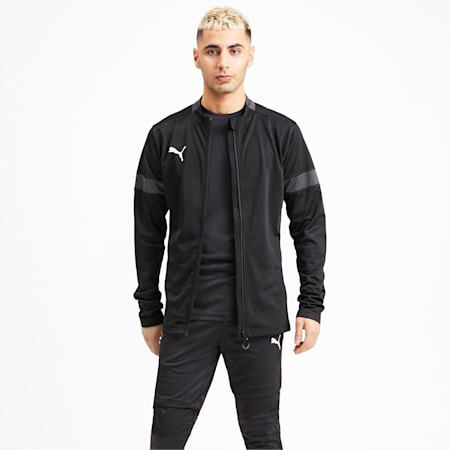 ftblPLAY dryCELL Men's Track Suit, Puma Black-Asphalt, small-IND