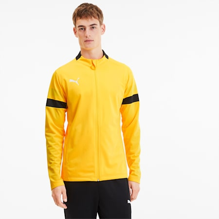 ftblPLAY Men's Track Suit, ULTRA YELLOW-Puma Black, small-SEA