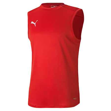 FINAL Sleeveless Training Men's Jersey, Puma Red-Chili Pepper, small-IND