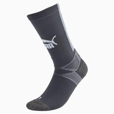 Team ftblNXT Casuals Men's Socks, Ebony-Grey Dawn, small