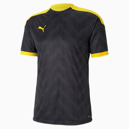 ftblNXT Graphic Men's Football Jersey, Puma Black-ULTRA YELLOW, small-SEA