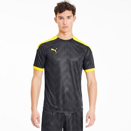 Męska koszulka piłkarska ftblNXT Graphic, Puma Black-ULTRA YELLOW, small