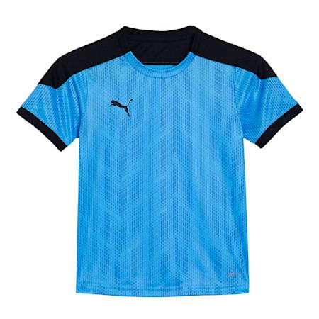 ftblNXT Graphic Shirt Jr, Luminous Blue-Puma Black, small-IND