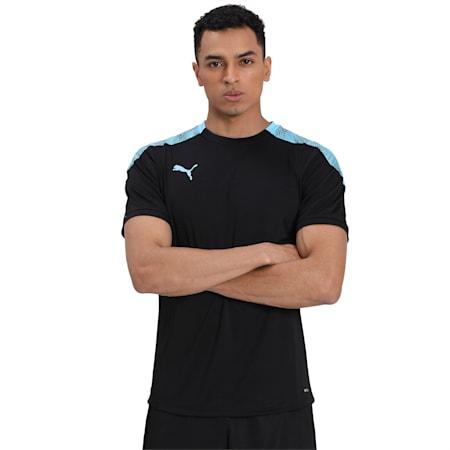 ftblNXT Pro T-Shirt, Puma Black-Luminous Blue, small-IND