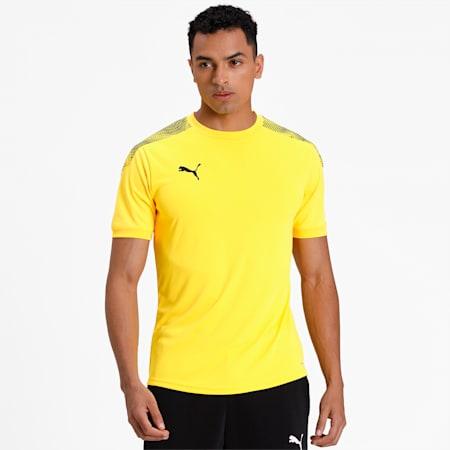 ftblNXT Pro T-Shirt, ULTRA YELLOW-Puma Black, small-IND